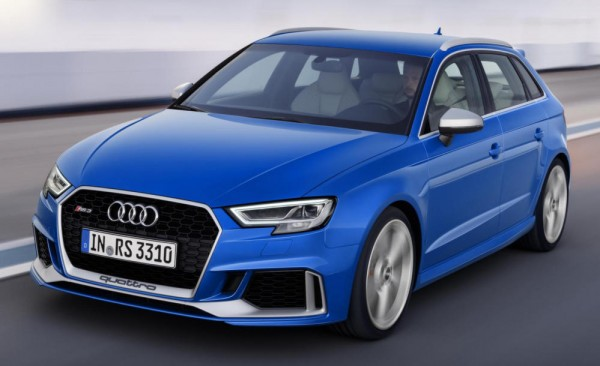 New Audi RS3 Sportback 0 600x366 at New Audi RS3 Sportback Gears Up for Late 2017 Launch