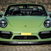 Olive Green Porsche 991 Turbo S-1