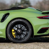 Olive Green Porsche 991 Turbo S-11