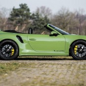 Olive Green Porsche 991 Turbo S 15 175x175 at Sight to Behold: Olive Green Porsche 991 Turbo S Cab Mk II