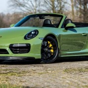 Olive Green Porsche 991 Turbo S-5