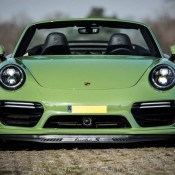 Olive Green Porsche 991 Turbo S-8