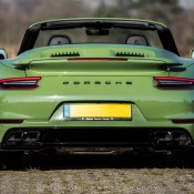 Olive Green Porsche 991 Turbo S-9
