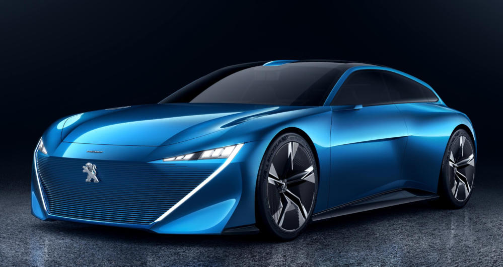 Peugeot Instinct 0 at Official: Peugeot Instinct Autonomous Concept