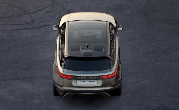 Range Rover Velar tease