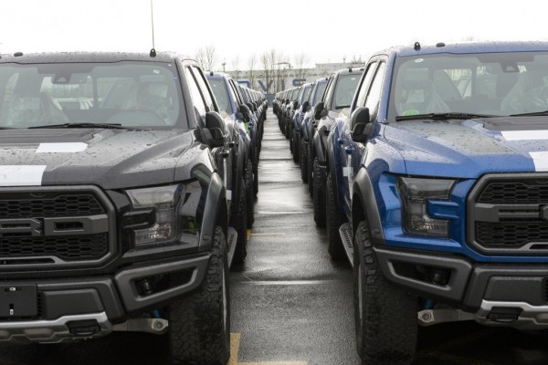 Raptors China 22 600x400 at 2017 Ford F 150 Raptor Heads to China