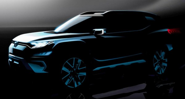 SsangYong XAVL SUV 0 600x323 at SsangYong XAVL SUV Concept Headed for Geneva Debut