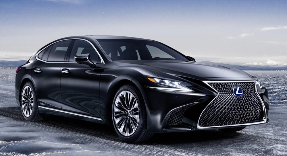 2018 Lexus LS 500h 0 at Official: 2018 Lexus LS 500h