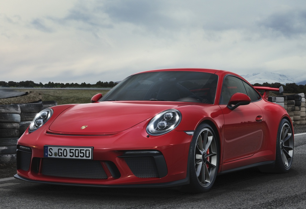 2018 porsche 991 gt3 facelift unveiled in geneva. Black Bedroom Furniture Sets. Home Design Ideas