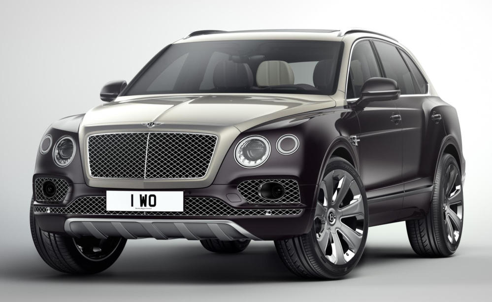 Bentayga Mulliner 0 at Official: Bentley Bentayga Mulliner