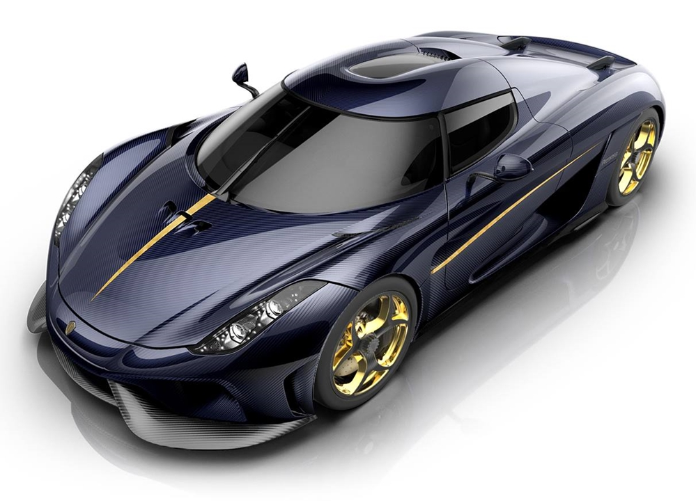 Employee Regera 0 at Koenigsegg CEO Configures His Own Regera