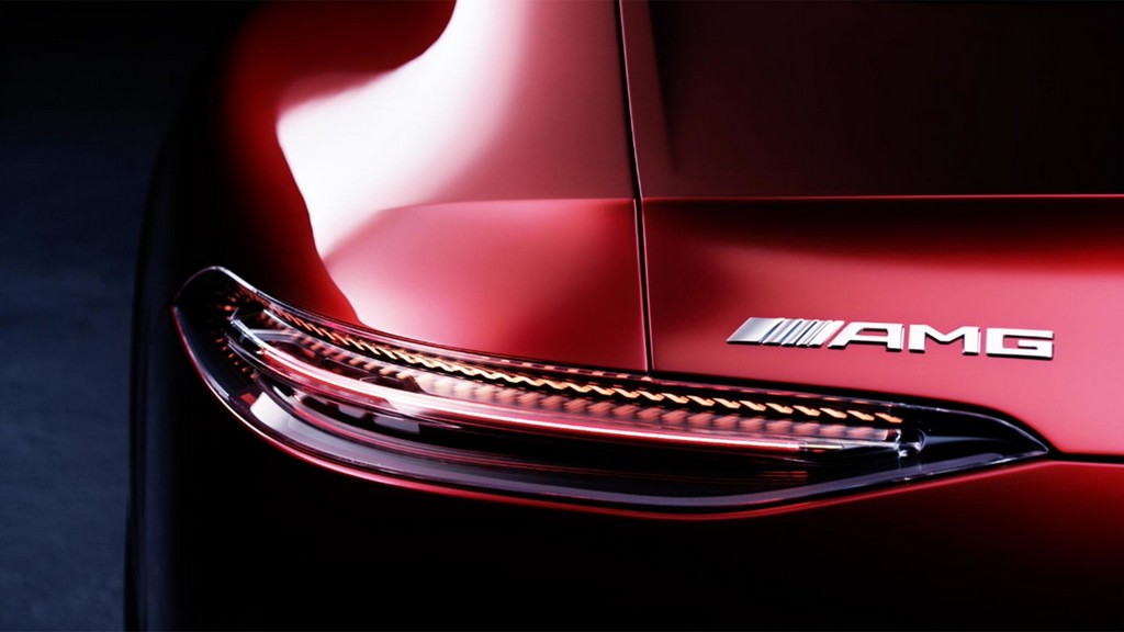 Four Door Mercedes AMG GT teaser 1 at Four Door Mercedes AMG GT Concept Set for Geneva Debut