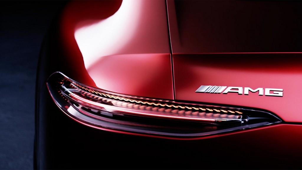Four Door Mercedes AMG GT teaser 1 at Four Door Mercedes AMG GT Concept Set for Geneva Debut