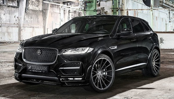 Hamann Jaguar F Pace 1 600x341 at Official: Hamann Jaguar F Pace