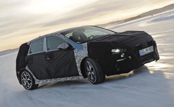 Hyundai i30 N Winter Testing Sweden 2 600x369 at Hyundai i30 N Undergoes Winter Testing