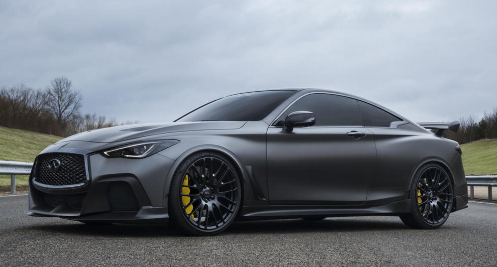 Infiniti Q60 Project Black S 0 at Infiniti Q60 Project Black S Features F1 Tech