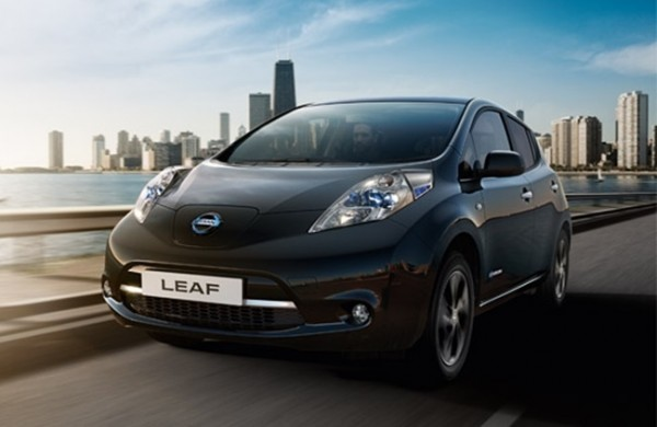 New Nissan LEAF Black Edition 0 600x390 at 2017 Nissan LEAF Black Edition for UK