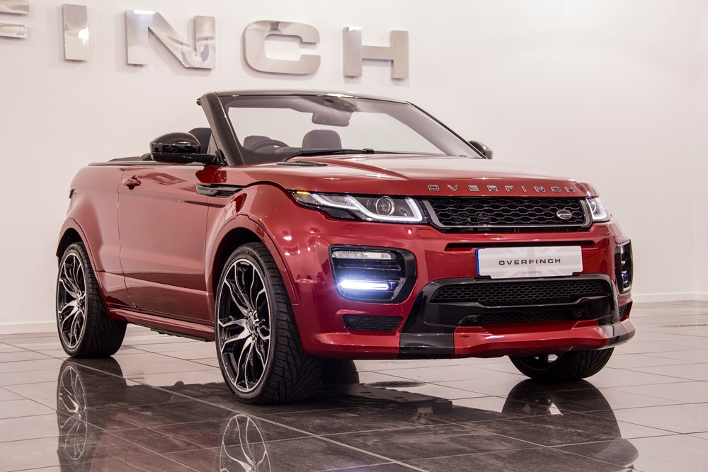 overfinch range rover evoque convertible. Black Bedroom Furniture Sets. Home Design Ideas
