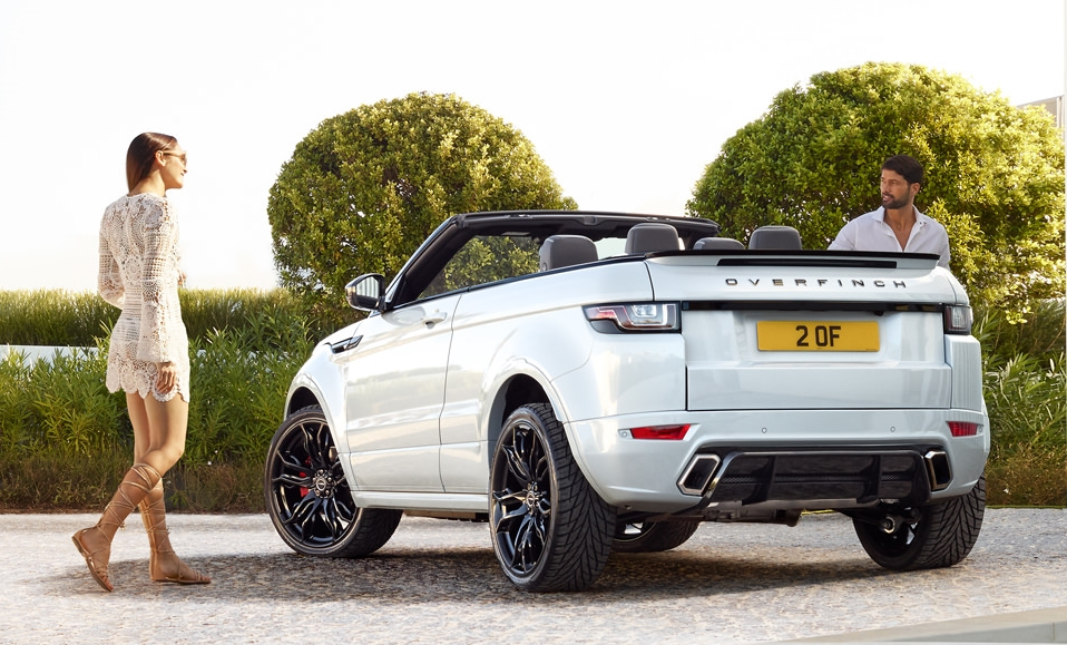 Overfinch Evoque Convertible 4 at Overfinch Range Rover Evoque Convertible
