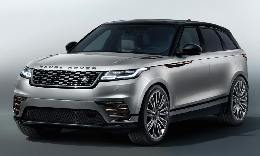 Range Rover Velar 0 at Range Rover Velar Goes Official