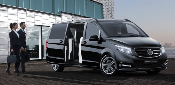 brabus business lounge 0 600x293 at Brabus Business Lounge V Class Is the Ultimate Van