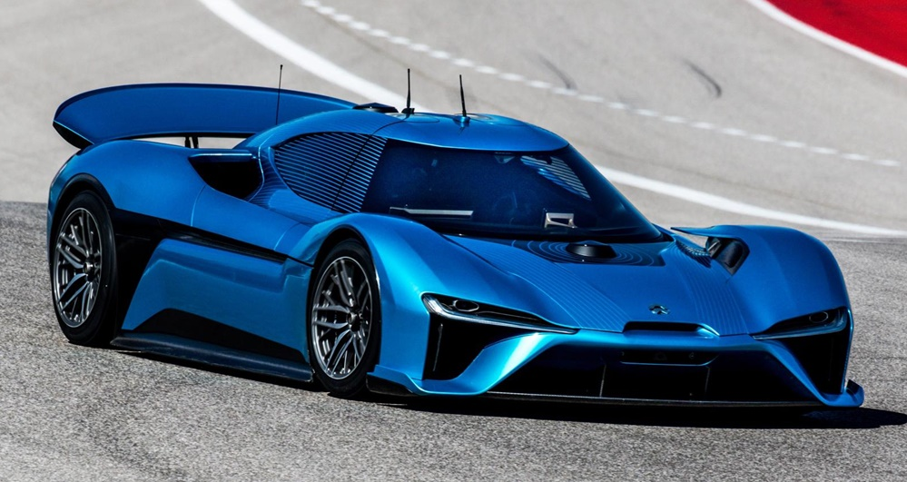 nio ep9 mw at NIO EP9 Sets Fastest Autonomous Lap Record