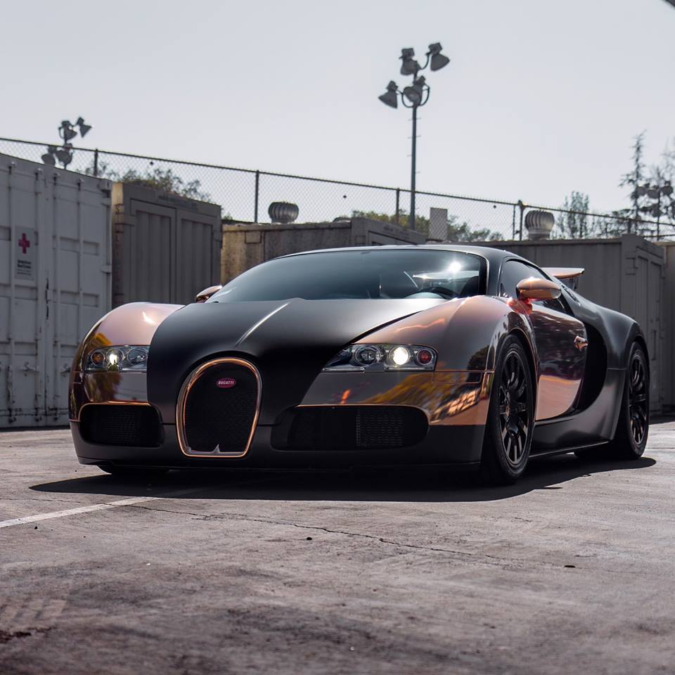 rose gold veyron 1 at Rose Gold Bugatti Veyron by RDBLA