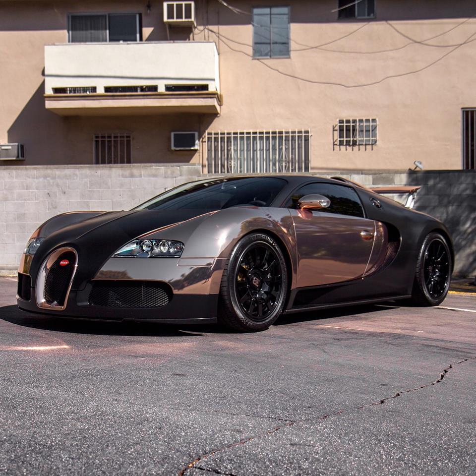 Rose Gold Bugatti Veyron by RDBLA