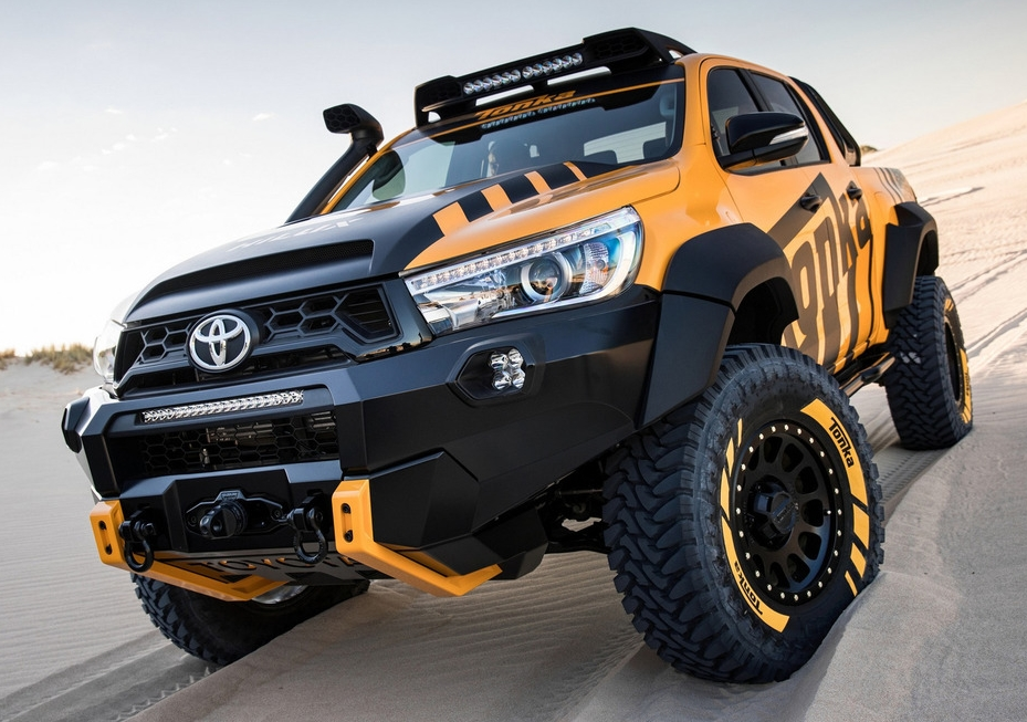 official toyota hilux tonka concept. Black Bedroom Furniture Sets. Home Design Ideas