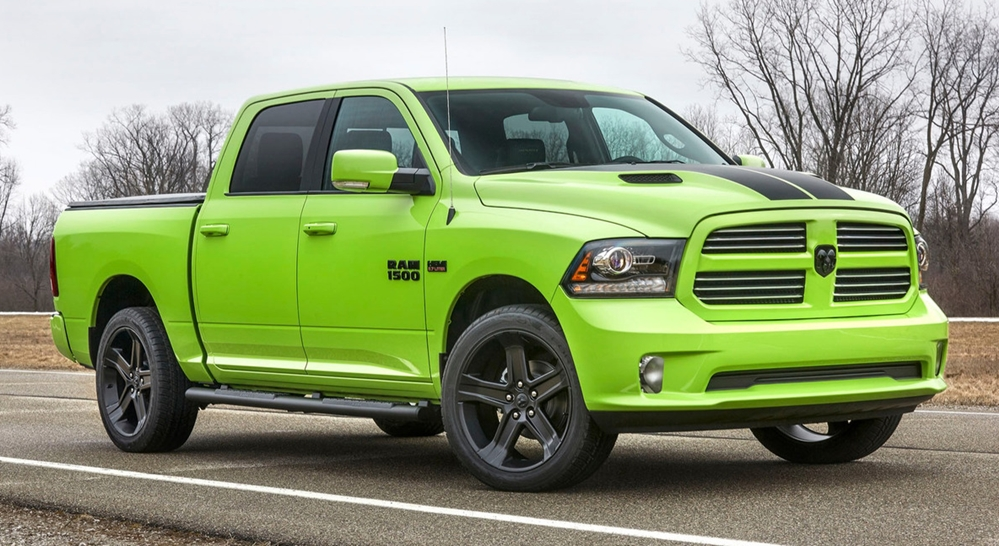 2017 ram 1500 sublime sport top at Ram 1500 Gets Sublime Sport and Blue Streak Editions
