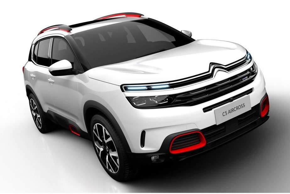 new citroen c5 aircross unveiled in shanghai. Black Bedroom Furniture Sets. Home Design Ideas