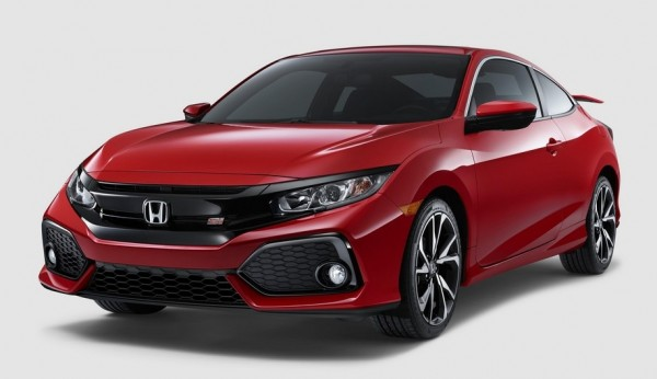 Honda Civic Si Coupe 0 600x346 at Official: 2017 Honda Civic Si Coupe and Sedan