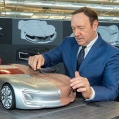 Kevin Spacey Visits Renault-1