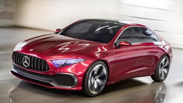 Mercedes-Benz Concept A Seda-0