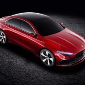 Mercedes-Benz Concept A Seda-4