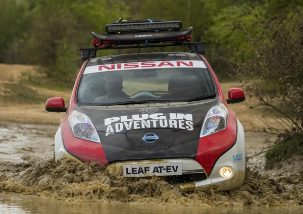 Nissan LEAF Rally Car-1