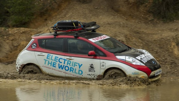 Nissan LEAF Rally Car-2