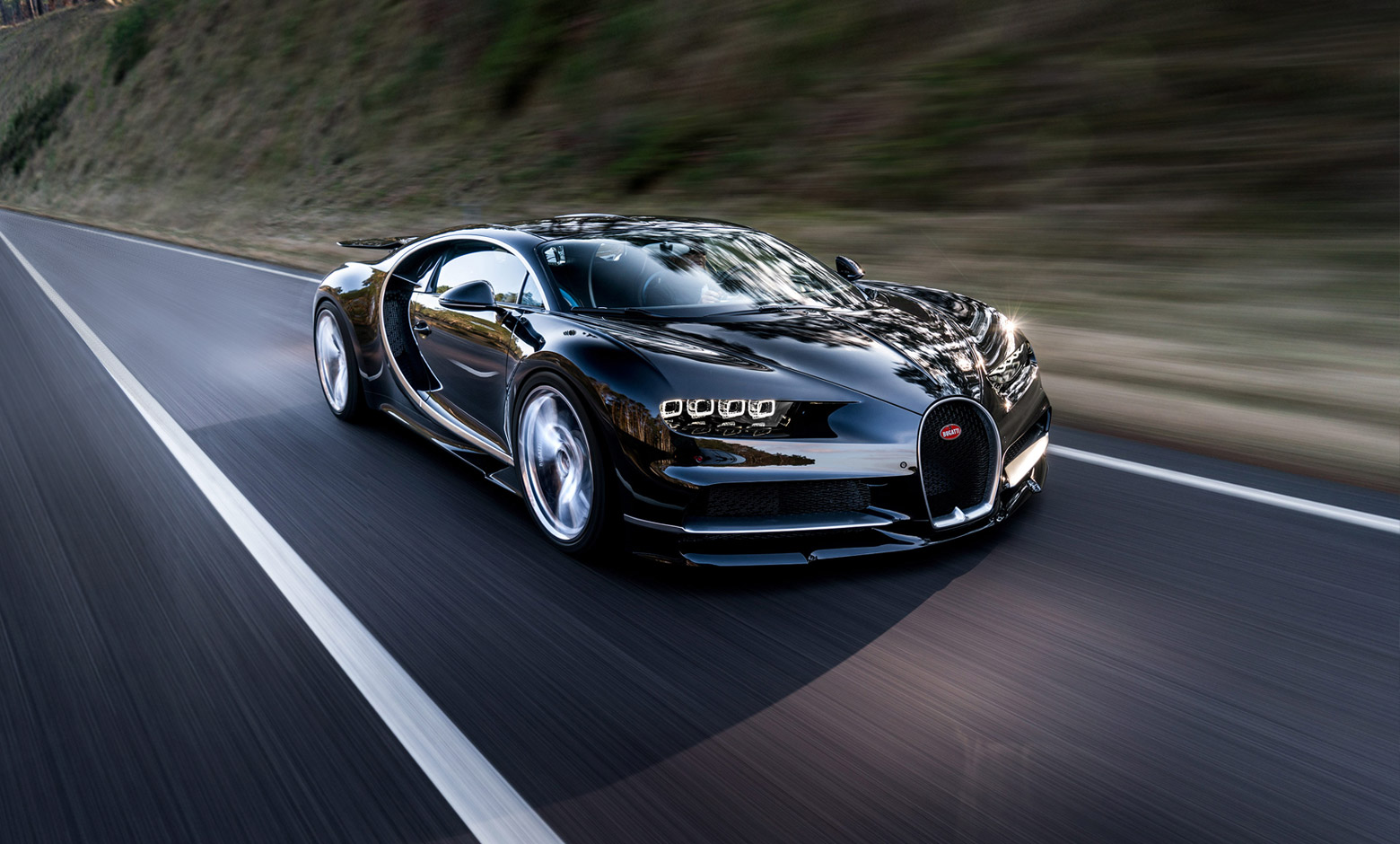 chiron at Bugatti Chiron: Worlds 2nd fastest car in 2017