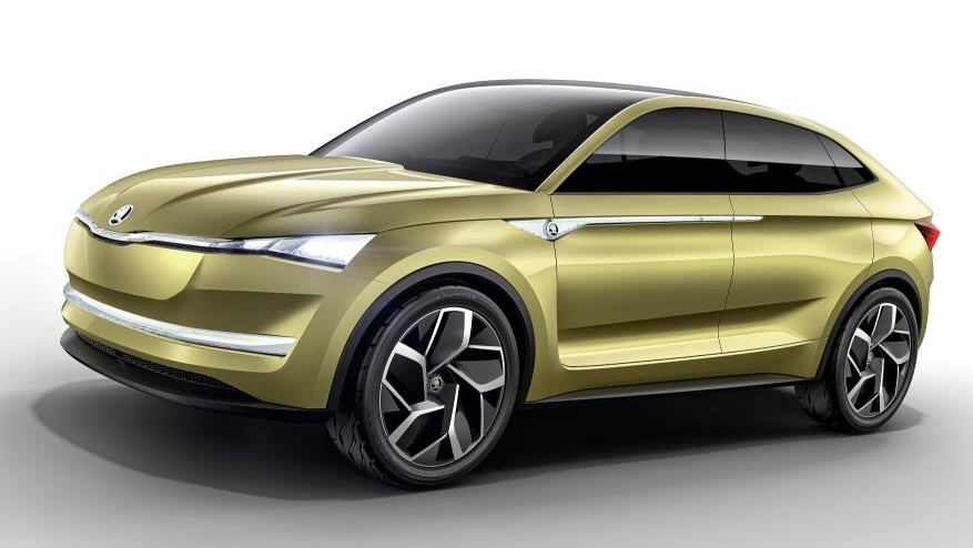 vision e 1 at Skoda Vision E Unveiled in Shanghai