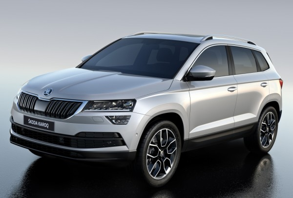 2018 Skoda Karoq 11 600x405 at Official: 2018 Skoda Karoq