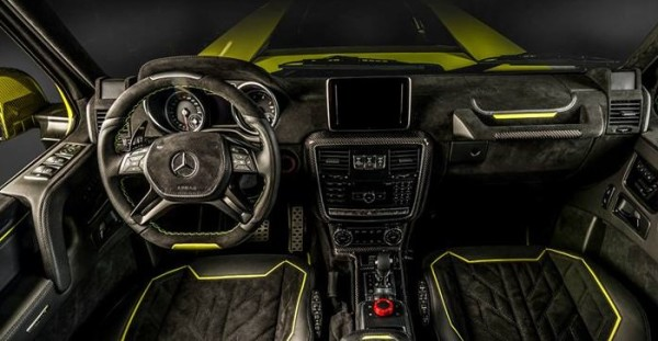 Brabus G500 4x4 600x311 at Brabus G500 4x4² Interior Package by Carlex Design