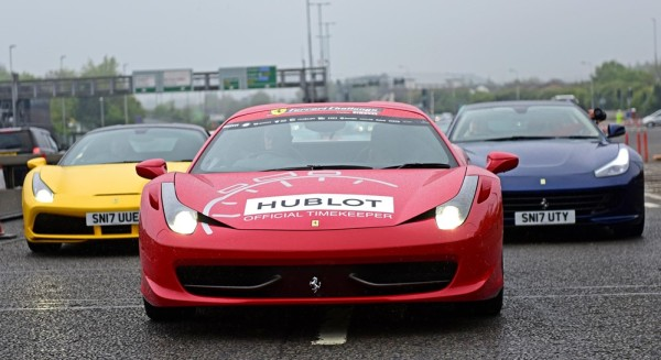 Ferrari Owners Club GB 0 600x327 at Ferrari Owners Club GB Celebrates 50th Anniversary with Large Parade
