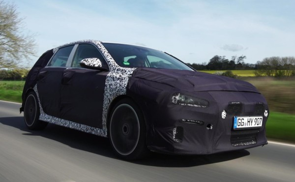 Hyundai i30 N 600x370 at Hyundai i30 N Continues Testing in UK