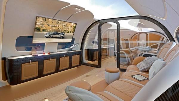 Pagani jet cabin-1