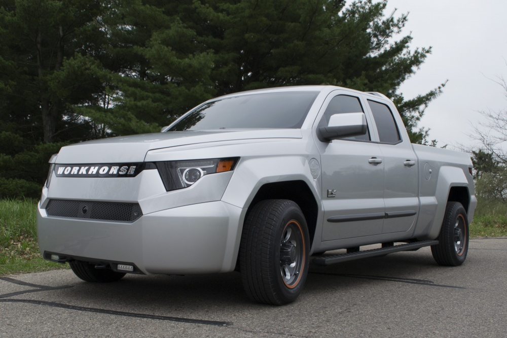W 15 Pickup W 15 01 1000x700 at Official: Workhorse W 15 Electric Pickup Truck