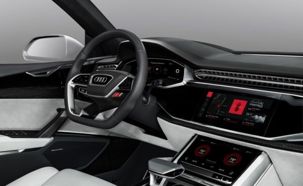 audi android 600x368 at Audi Switches to Android Infotainment