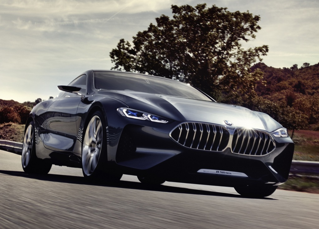 bmw 8 series concept previews 2018 production model. Black Bedroom Furniture Sets. Home Design Ideas