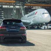 cayenne a380 tow 6 175x175 at Porsche Cayenne Tows Airbus A380 for Guinness Record