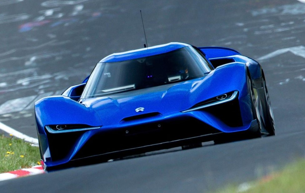 nio ep9 ring 1 at NIO EP9 Sets New Nurburgring Lap Record