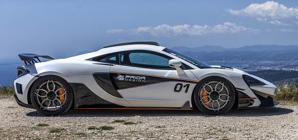 prior design pd1 aerodynamic kit for mclaren 570S at Prior Design McLaren 570S Looks Athletic
